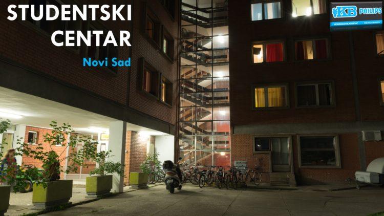 Osvetljenje Studentskog Centra – Novi Sad