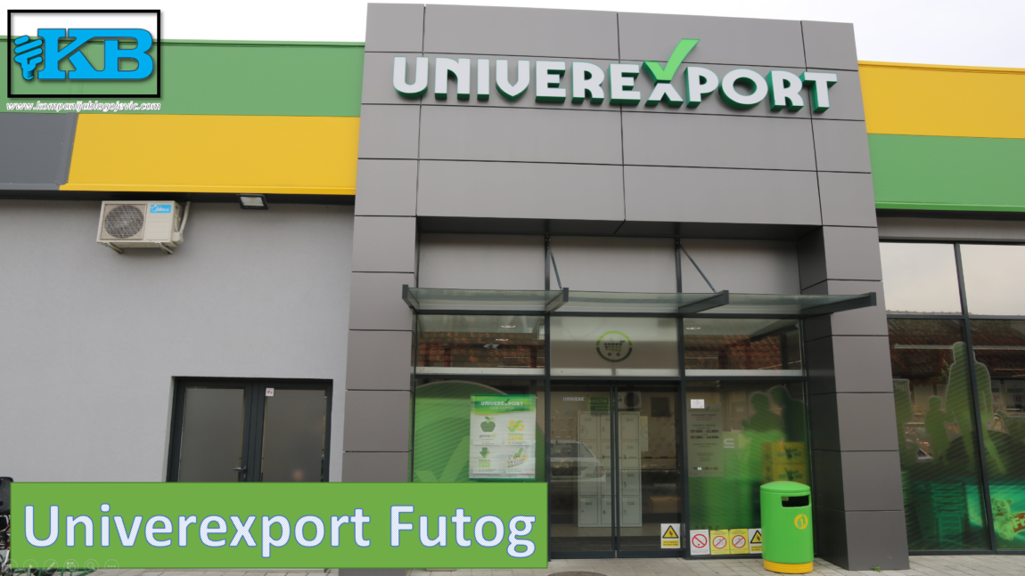 LED Osvetljenje Megamarketa – Univerexport Futog