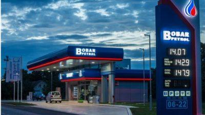 Osvetljenje benzinske pumpe BOBAR