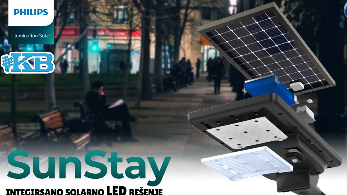 Solarne LED svetiljke Philips SunStay