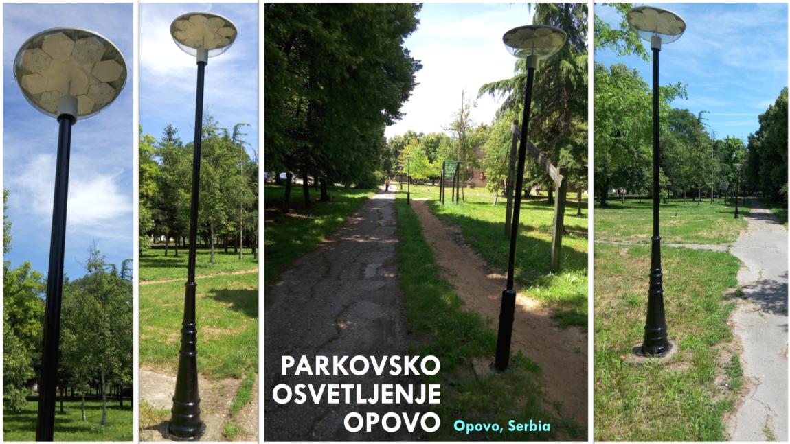 Parkovska Rasveta – Opovo