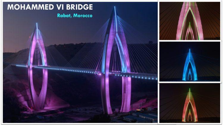 Most Mohammed VI – Philips LED Osvetljenje