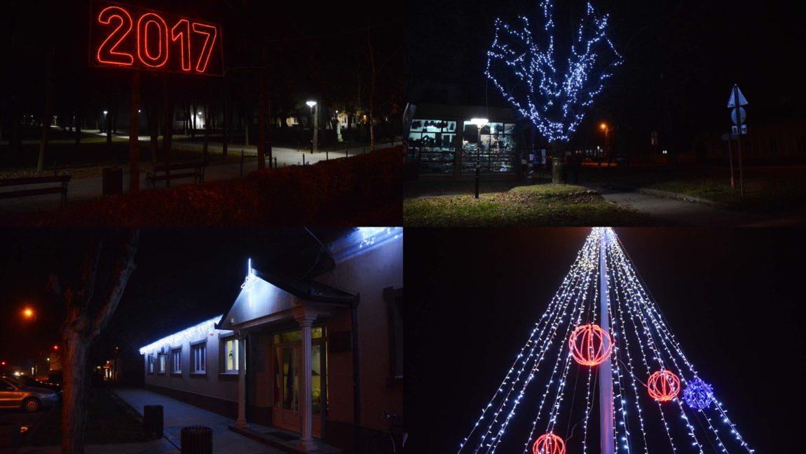 Praznično osvetljenje opštine Opovo
