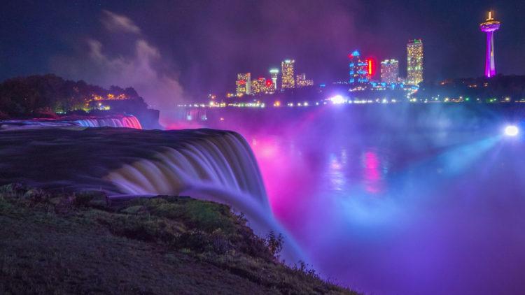 Osvetljenje Nijagarinih Vodopada – Philips LED