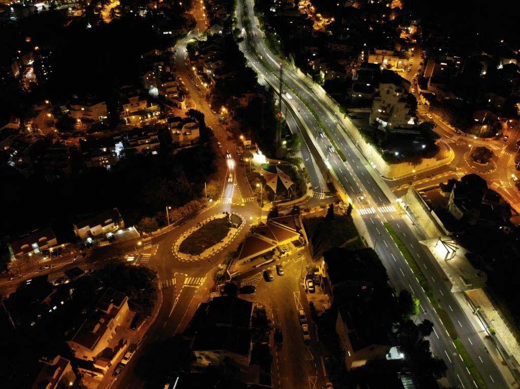 Osvetljenje Haife, trećeg najvećeg grada u Izraelu
